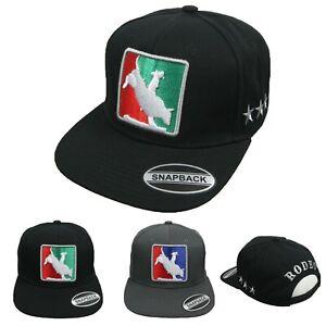 RODEO-Baseball-Cap-Sun-Hat-Visor-Cotton-Snapback-Hip-Hop-Flat-Bill-Outdoor