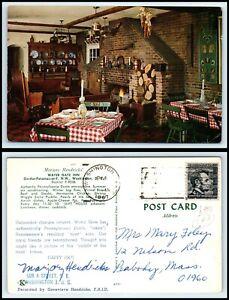 WASHINGTON-DC-Postcard-Marjory-Hendricks-039-Water-Gate-Inn-Restaurant-M6