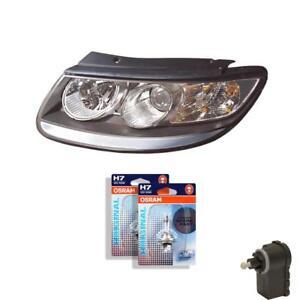 Scheinwerfer-rechts-fuer-Hyundai-Santa-Fe-CM-inkl-Lampen-Motor-inkl-Motor