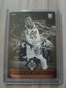 Donovan-Mitchell-ROOKIE-Utah-Jazz-2017-18-Panini-Chronicles-Majestic-card-RC
