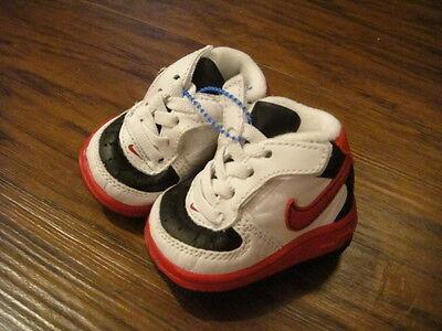NEW NIKE 0 BLACK RED WHITE BABY INFANT SHOES BOYS   eBay