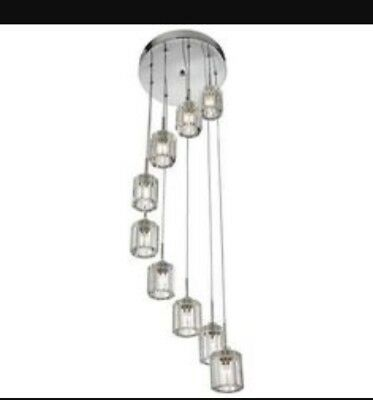 Dunelm Mill Hotel Wentworth Drop Ceiling Light Ebay
