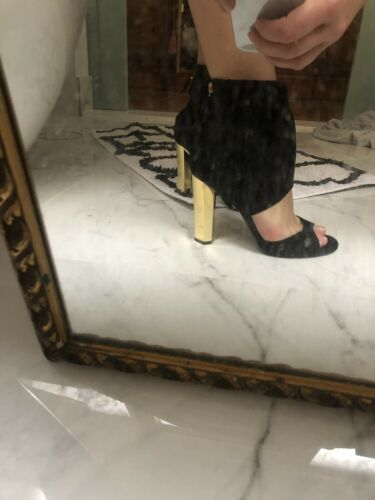 taglia Diane Furstenberg Von nera in Scarpe Stunning 7b scamosciata pelle U6tqAxF