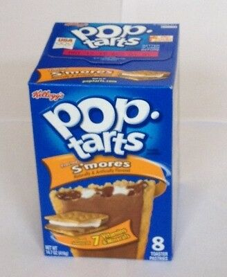 Pop tarts Frosted Choc & Marshmallow (s'mores) 8 toaster pastries 400g