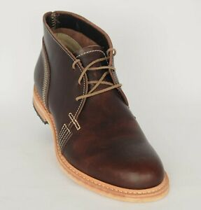 Details about Timberland Coulter Men's Chukka Boots 4119R Dark Brown MAde in USA Sz 9