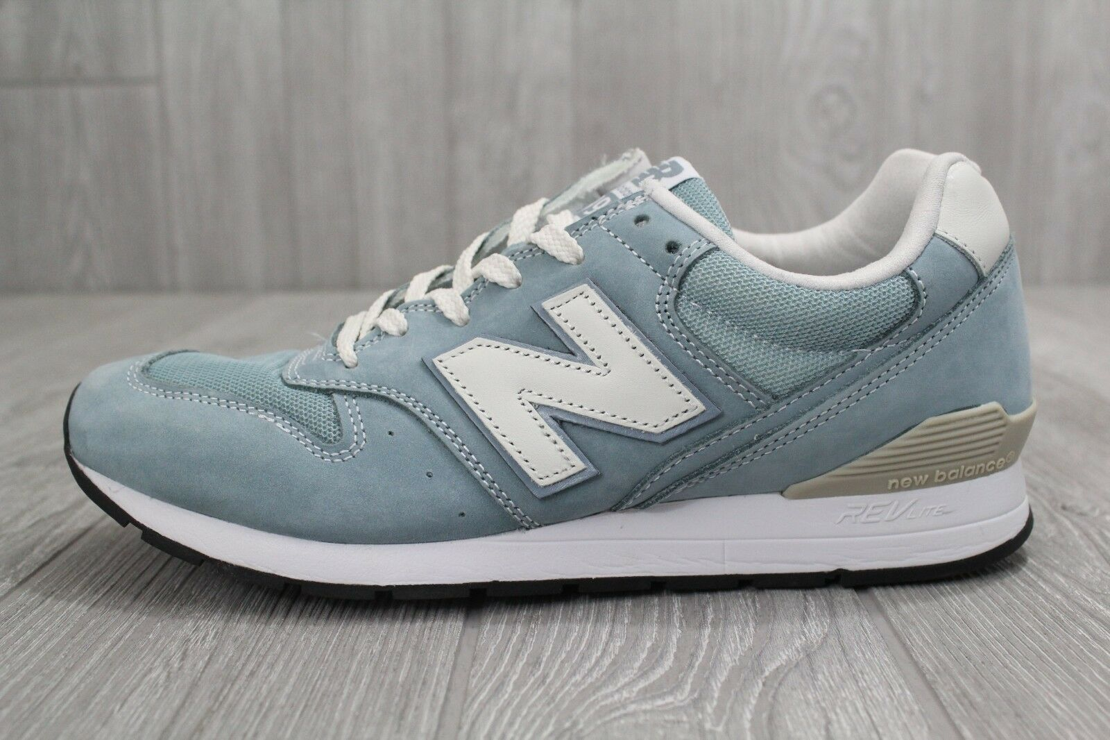 27 Men's New Balance 996 FL Size 8.5 MRL996FL Light Blue Citadel Revlite Shoes