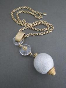 Vintage-Mid-Century-Modernist-Italian-Lucite-Necklace