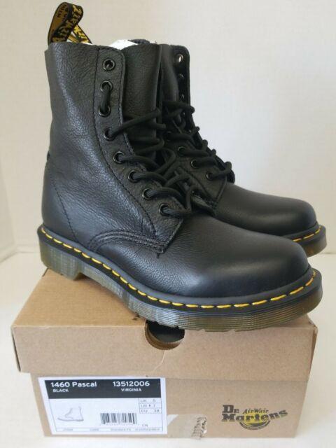 Dr Martens 1460 Pascal Black Virgina 13512006 Leather -5225