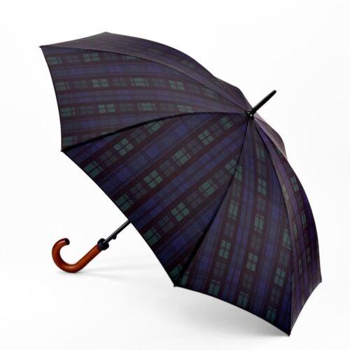 Fulton Huntsman Mens Classic Stick Walking Length Umbrella with Wood Handle