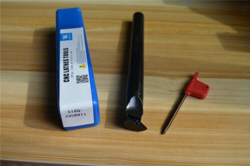 S16Q-SVUBR11 16x180mm Lathe Turning Tool Boring Bar For VCMT1103 VBMT1103