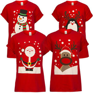 Mens-Womens-Adults-Unisex-Novelty-Christmas-Xmas-T-shirt-Top-Tee-Festive-Gift-UK