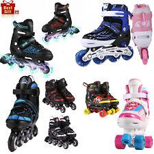 Argos Children S Grey And Red Inline Roller Skates Adjustable Buckles Size 2 3 For Sale Online Ebay