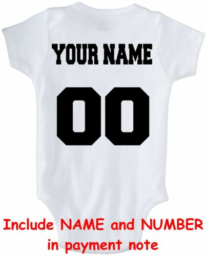 Baby bodysuit Newest fan Texas Rangers baseball OnePiece jersey personalized
