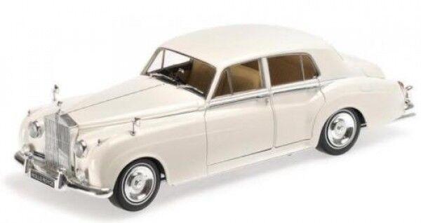a la venta Minichamps 100134900 Rolls Royce plata Cloud II II II 1960 blancoo 1 18  ¡no ser extrañado!