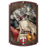 Minnesota Twins Cooperstown Throwback Jersey Wood Sign 11x17 Wincraft