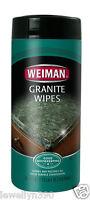 Weiman Granite Wipes 30ct Use On: Marble, Quartz, Corian, Ceramic