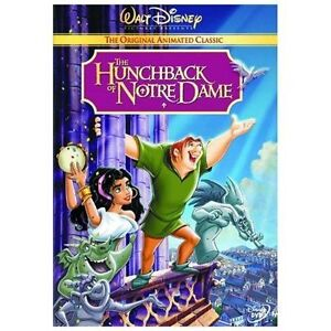 The Hunchback of Notre Dame DVD, Tom Hulce, Demi Moore,