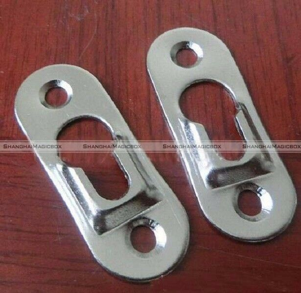 20x Heavy Duty Flat Keyhole Picture Frame Hangers Two Hole Hanging ...