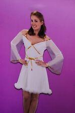 Womens Pretty Angelic Peaceful Angel Halloween Costume White 8 10 12  Med Lg NEW