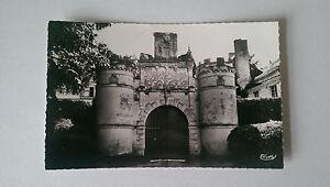 AubignéRacan France Vintage BampW Postcard  c1950s Porte du Chateau de Bosse - Epsom, Surrey, United Kingdom - AubignéRacan France Vintage BampW Postcard  c1950s Porte du Chateau de Bosse - Epsom, Surrey, United Kingdom