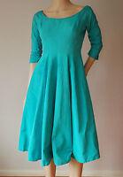 vintage 50's GIGI YOUNG ORIGINALS full swing skirt dress PETITE UK6 8