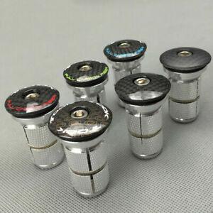 Bike-Bicycle-1-1-8-034-Headset-Compressor-Expander-Plug-T800-Carbon-Fiber-Top-cap