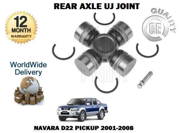Für Nissan Navara D22 Pickup 2.5td 1998-2008 Neu Hinterachse Uj Gelenksatz