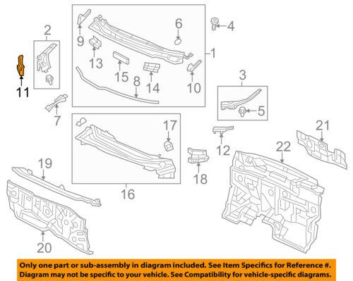 HONDA OEM 12-15 Civic Cowl-Pivot Cover Right 74214TR0A00
