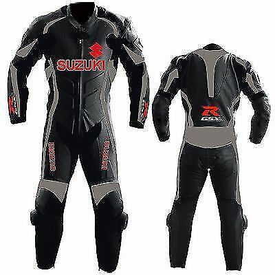 Suzuki GSXR Motorcycle Leather Suit MotoGp Sports Motorbike Furious Leather Suit