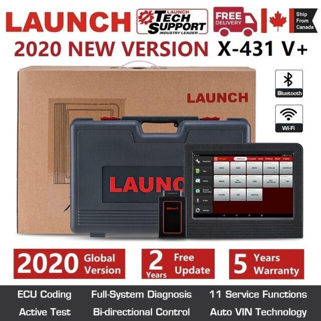 LAUNCH X431 V+ V PRO Car OBD2 Scanner Bidirectional Diagnostic Tool Key Coding