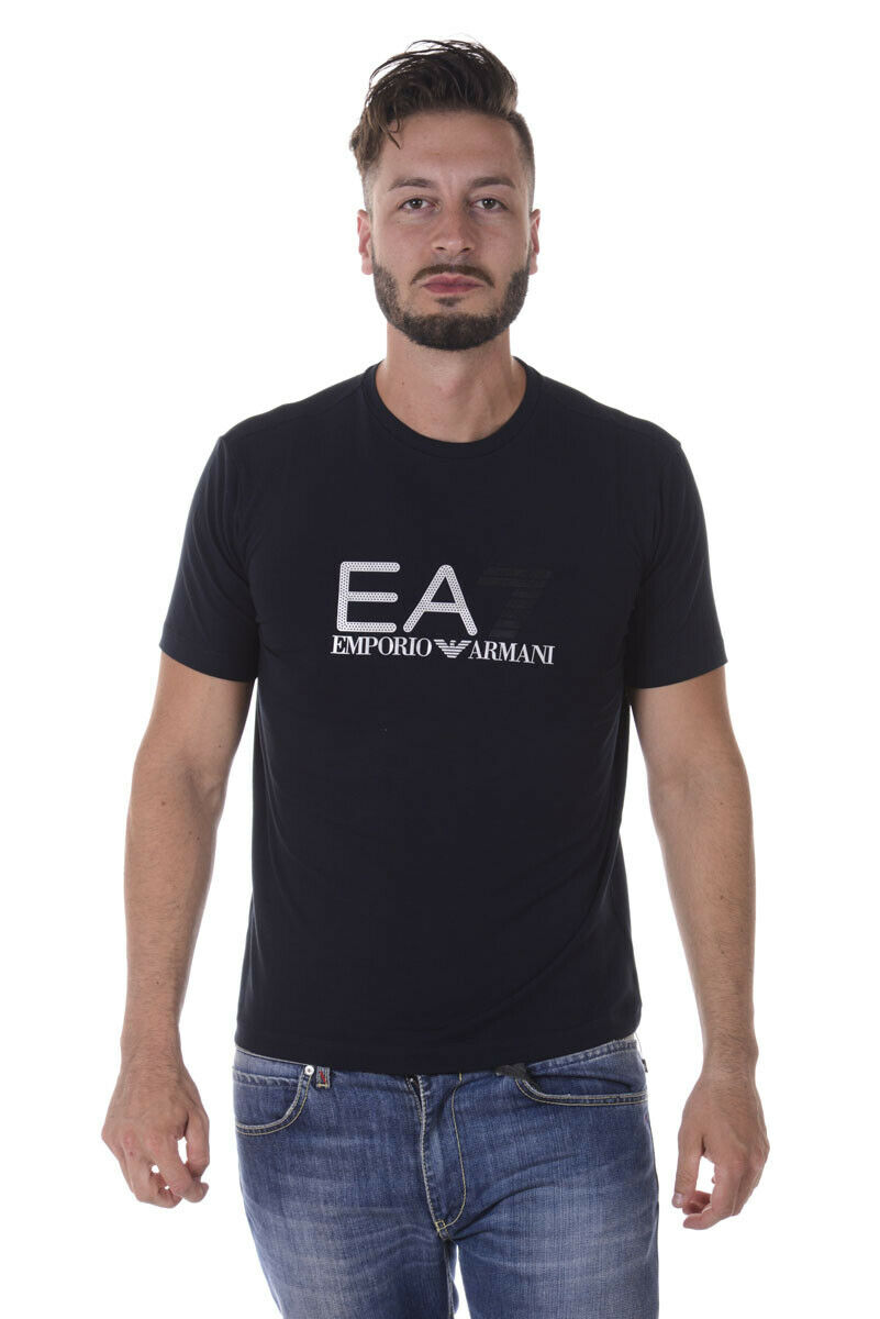 Emporio Armani EA7 T hemd schweißhemd Man Blau 6YPTB9PJ18Z 1578 SzXXL MAKE OFFER