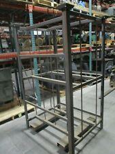 Misc Brand Metal Storage Crate Box 39x48x74 Shelf 39x11x34 Used
