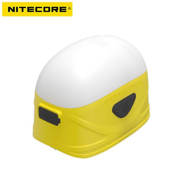 Nitecore LA30 8 x CRI LEDs  and 3 x Red LEDs Bi-Fuel Camping Lantern (Yellow)  exclusive