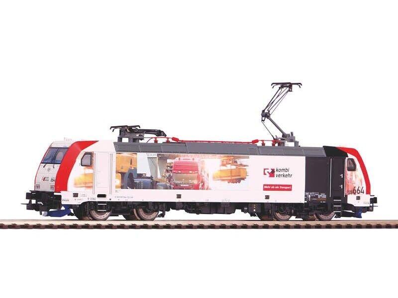 PIKO 59154 E-Lok BR 185.2 trasporto combinato, EPOCA VI, traccia h0