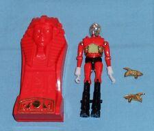 vintage Mego Micronauts complete RED ORANGE PHAROID