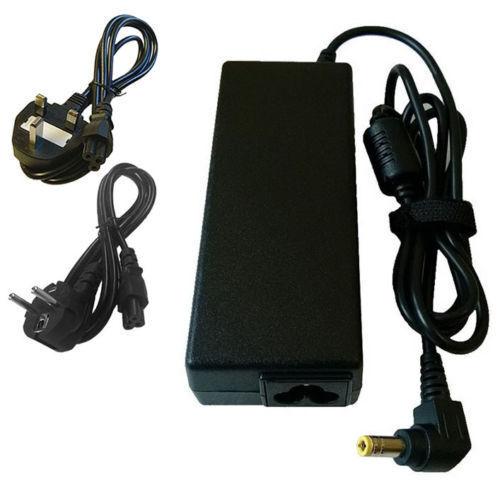 KABEL UK EU FUJITSU SIEMENS AMILO Pi 3540 Notebook Ladegerät 20V 4.5 A
