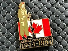 PINS PIN BADGE ARMEE MILITAIRE WW2 CANADA