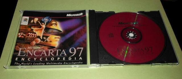 Microsoft Encarta  000-31704  97 Encyclopedia CD Disc Super Fast Shipping
