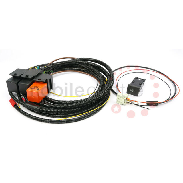 Land Rover Defender Heated Front Screen wiring kit 1985-2002