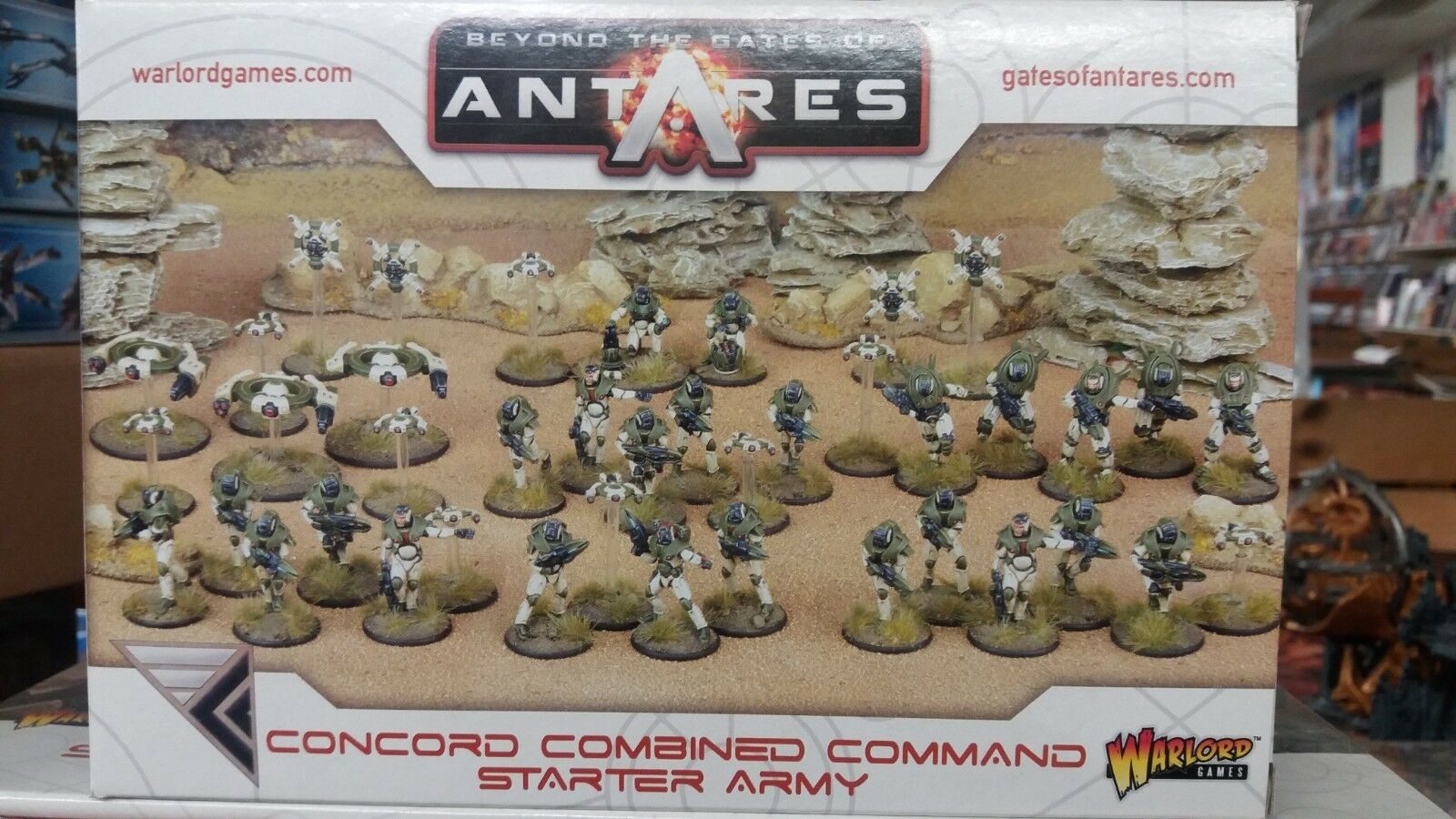 Beyond the Gates of Antares  Concord Combined Command Starter Set Sealed