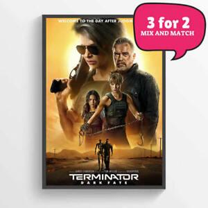 TERMINATOR GENISYS MOVIE POSTER FILM A4 A3 ART PRINT CINEMA