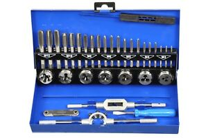 Métrique Tarauds Filetage Schneider 32 pces Tap and les Metric Tapper Set-er 32teilig Tap And Die Metric Tapper Setafficher le titre d`origine