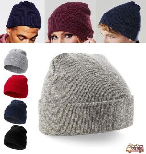 berretto cappello uomo donna invernale unisex cuffia a coste ... 969792596423