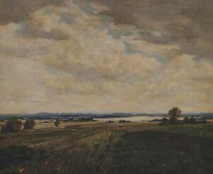 Lothar Rudolf meilinger 1887 - 1935-Pre-Alps Landscape Chiemgau