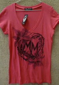 "Metal Mulisha Women/'s T-Shirt /"" Biker Punk Tee /"" Color Black"