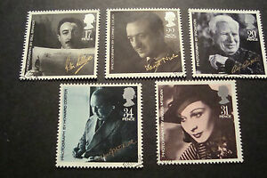 GB-1985-Commemorative-Stamps-Film-Year-Very-Fine-Used-Set-ex-fdc-UK-Seller