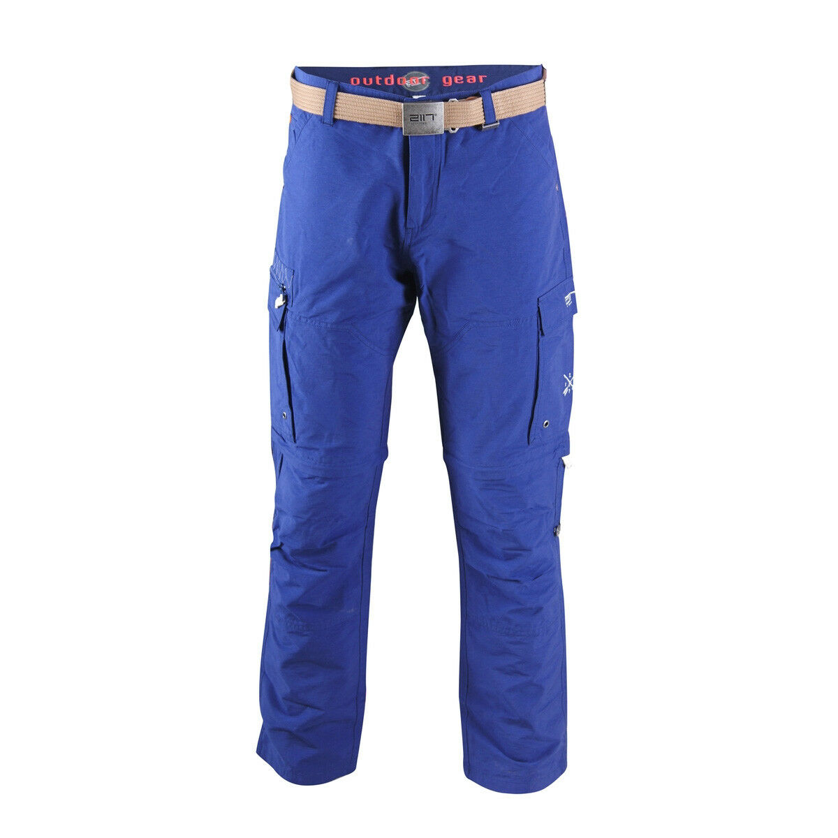 2117 of Sweden Arnäs Herren Zip-off Hose Wanderhose Outdoorhose blau
