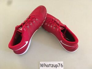 cheaper a9d1f 28458 Details about New Men's Nike Free Trainer 5.0 V6 TB Sz 14 Gym Red/White  723987-610