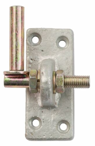 Adjustable Hook on Plate Gate Shed Door Hinge 13mm Pin