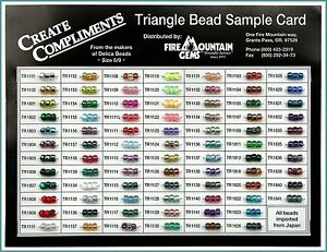 TOP-Angebot-Triangle-Bead-Sample-Card-FM-TR